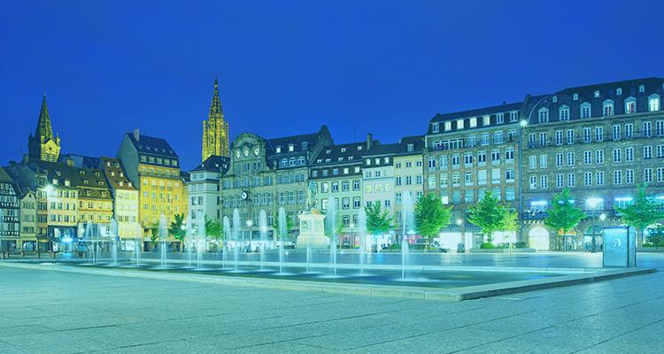 Les vitrines de strasbourg animent la ville les vitrines for Salon de la gastronomie strasbourg
