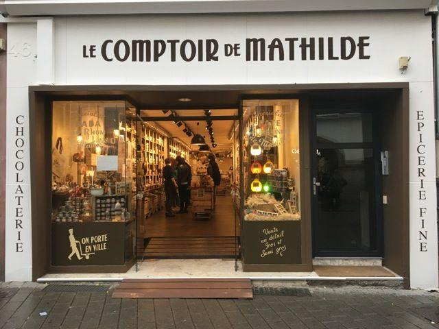 Le comptoir de mathilde les vitrines de strasbourg - Le comptoir des grandes marques ...